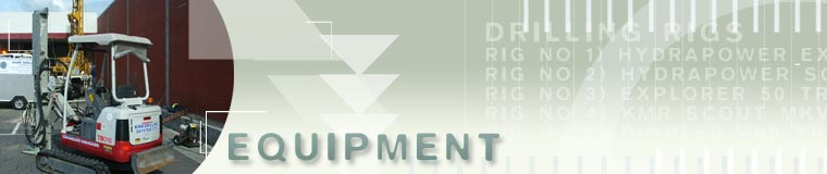 KMR Drilling equipment banner
