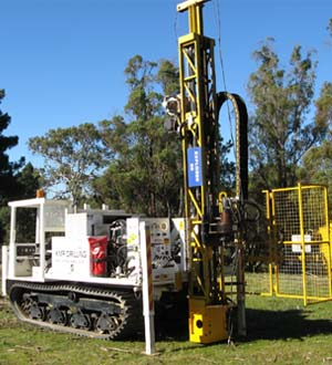 KMR Drilling RIG NO. 3) EXPLORER 50 TRUCK OR TRACK MOUNTED